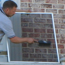 All Seasons Window Cleaning - Services include window cleaning, window tracks, skylights, screens, chandeliers, ceiling fans, mirrors, gutters, blinds, awnings